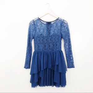 Keepsake Until the End Of Time Lace Dress